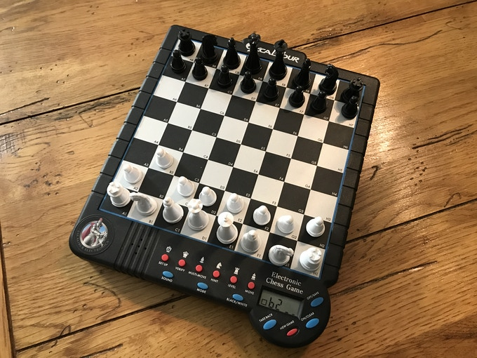 Sensory Chess Board by Excalibur