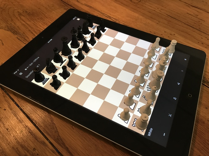 Prototype set using lichess for Ipad