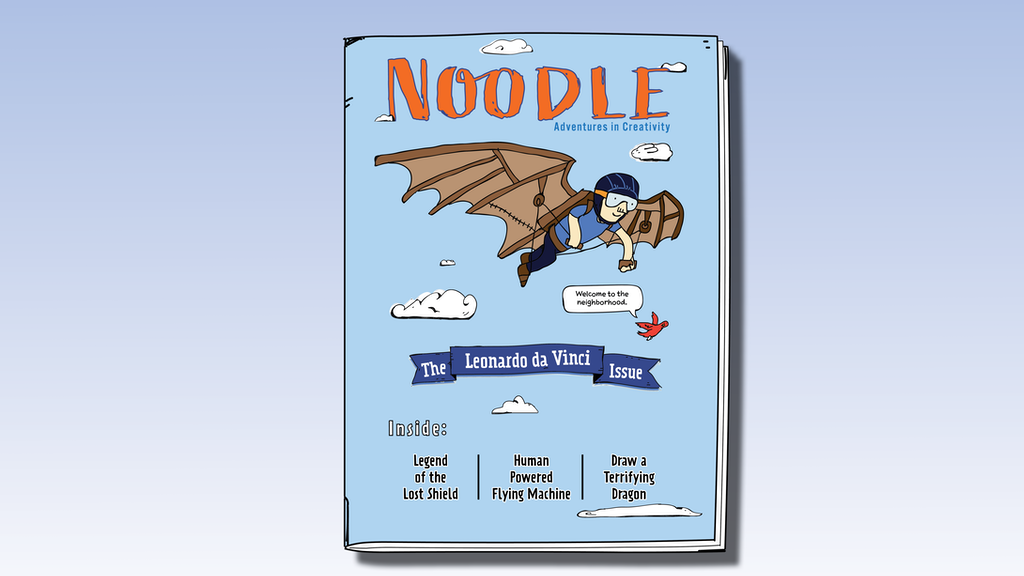 Make 100 >> Noodle: Issue #1