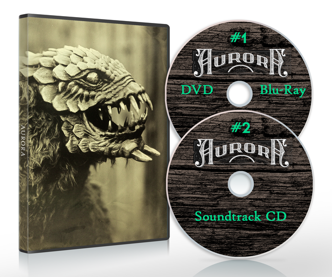 Your choice of the movie on DVD or Blu-Ray, plus the soundtrack on audio CD.