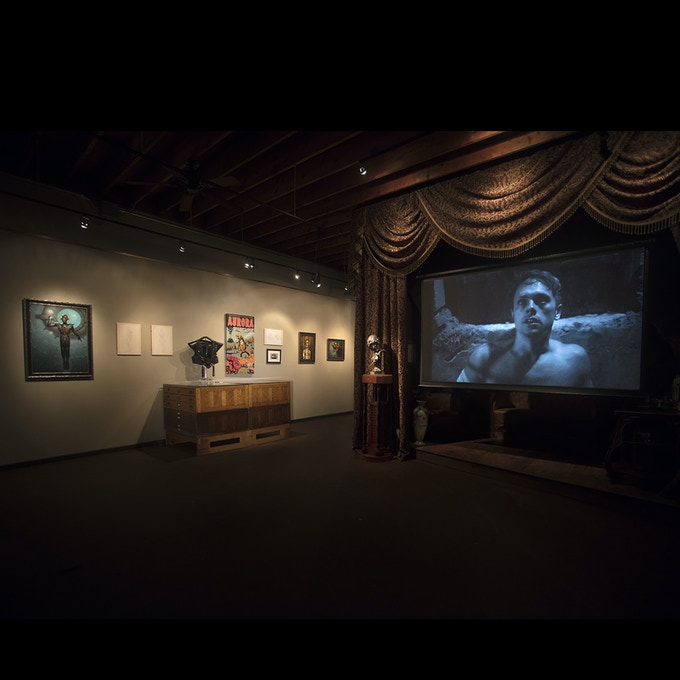Aurora exhibition and screening at The Century Guild Museum of Art in 2018