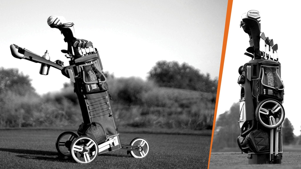 Transrover. The all-in-one golf cart. Golf trolley. Relaunch project video thumbnail