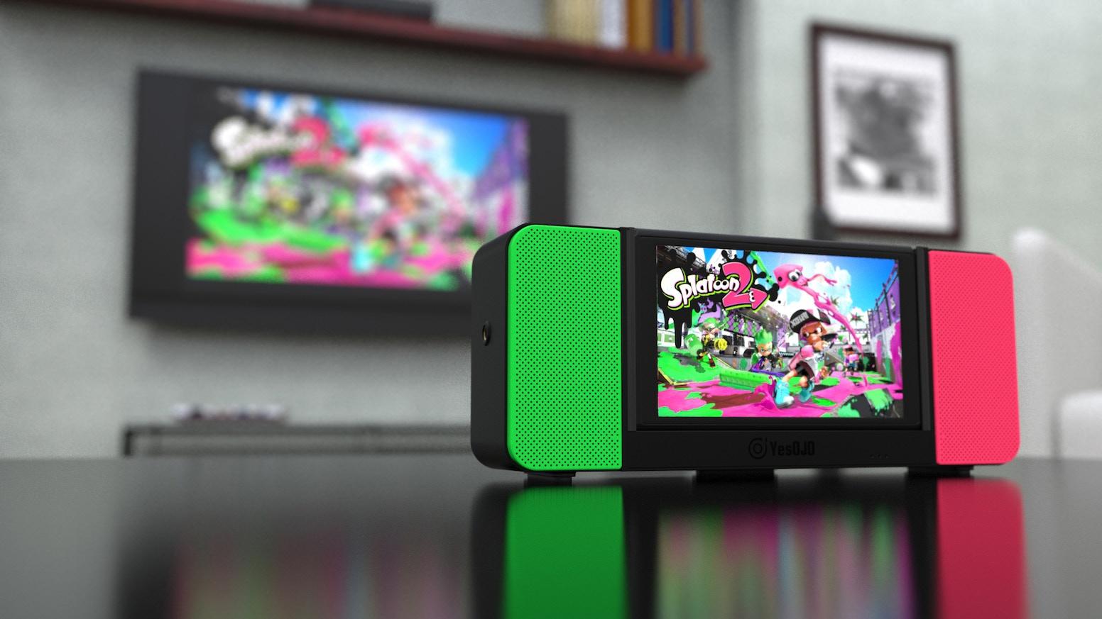 Switch 專屬藍牙揚聲器充電基座 OJO Speaker