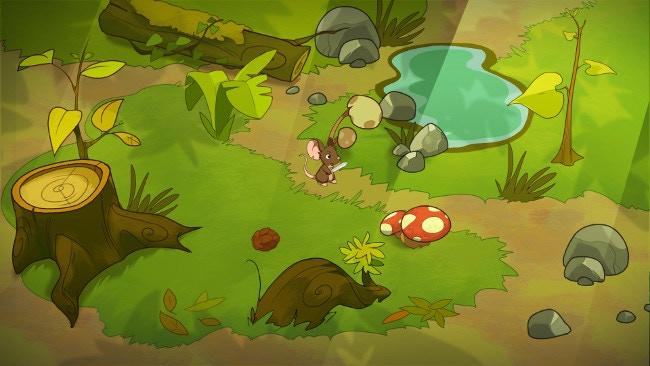 First concept art - Forest environment