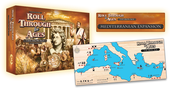 Roll Through the Ages: The Iron Age + The Mediterranean Expansion