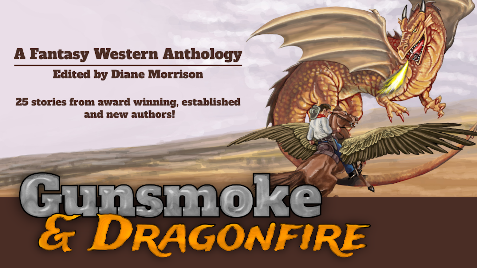 Fantasy, sci-fi, alt-history, post-apoc, cattlepunk & weird west stories by an international stable of established & emerging authors.