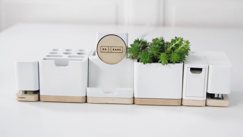 Re:ease - The Modular Desk Organizer with 11 Features