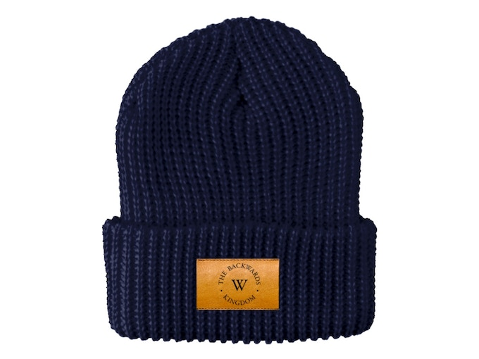"Backwards Kingdom beanie featured in ""The Whit"""