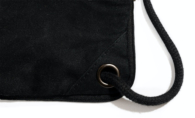 NEBULITE Drawstring Backpack with thick 8mm cotton string. Because girth is good.