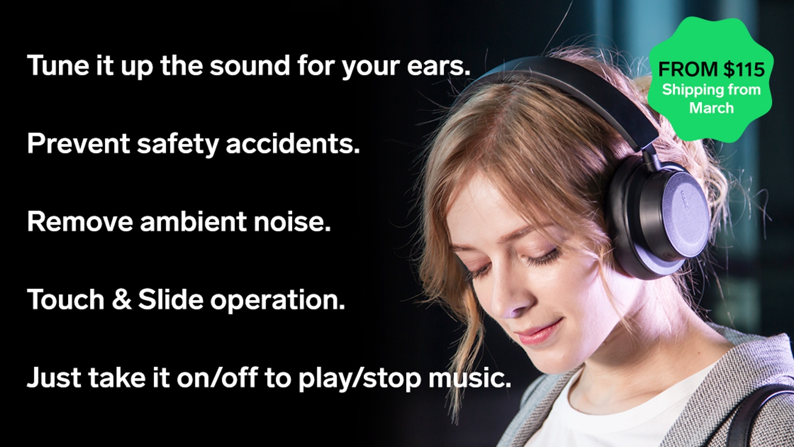 05e1b7bc7aa HB-V70 World's First Multifunction Smart Wireless Headphones by DJ ...