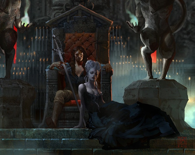 Step into the world of Vampires!