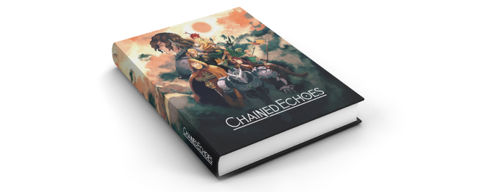 Mock up of the physical artbook (final look might change)