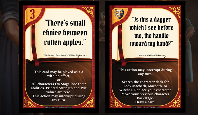 Handful of new Action Cards that can be played at anytime! Even if you are not in the current battle!