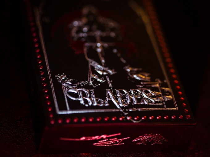 Blades Dual Foil Embossed Box