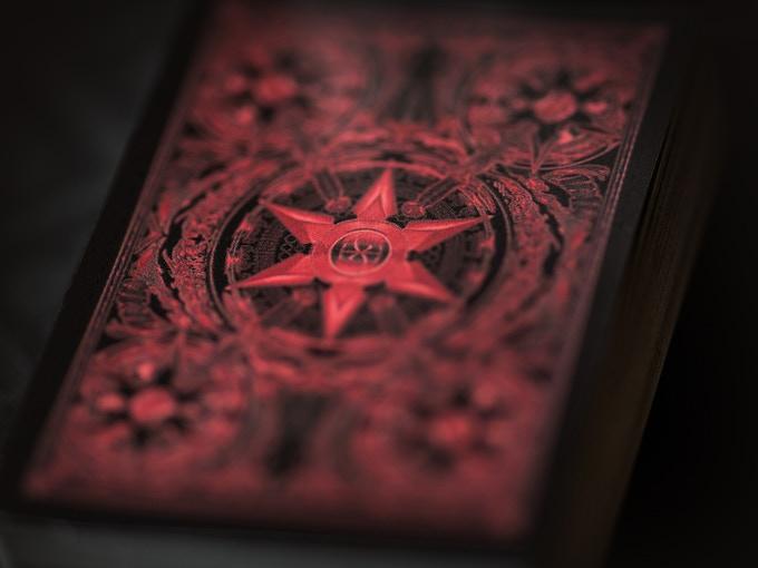 Standard Ink shown for prototype - actual deck will feature metallic ink