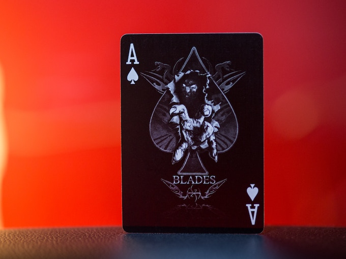 """Demon Claw"" Ace of Spades"