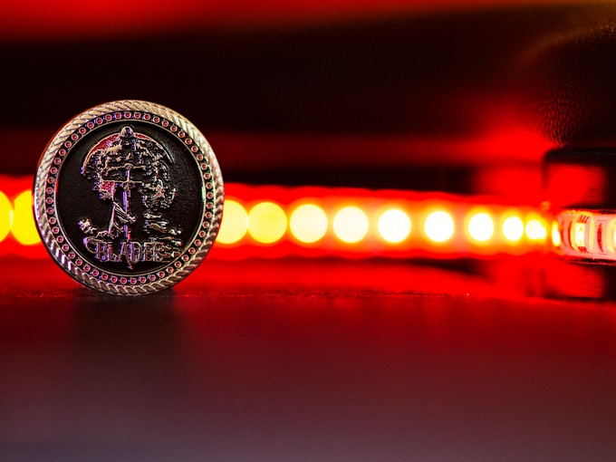 Amazing Blades Blood Moon Coin - Very LIMITED!