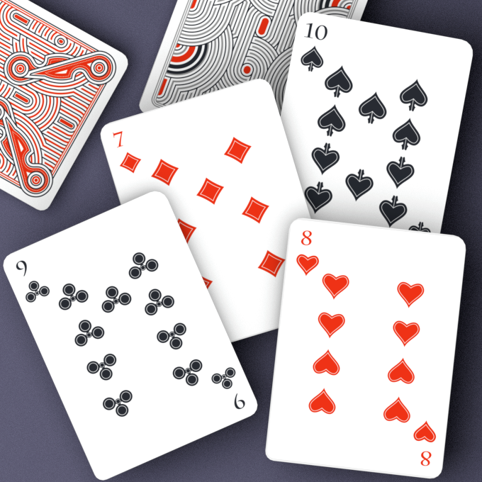 Same number cards in both editions