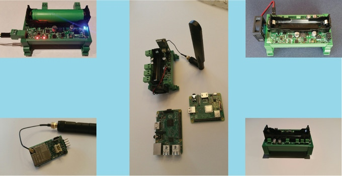 Pi18650 SMART UPS and Dongle Prototypes