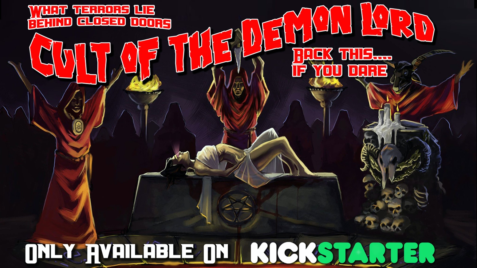 Backerkit is now open! Follow the Pre-Order Now button for all of your Cult of the Demon Lord Goodness.... or is it Evilness?We plan to keep BackerKit open through May!