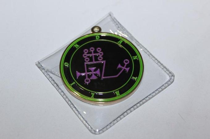 Dantalion Spirit Medallion (front)
