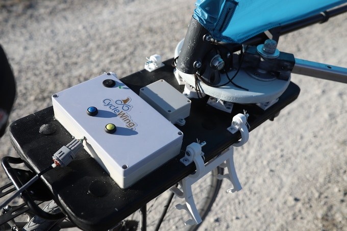 The CycleWing waterproof electronic control unit