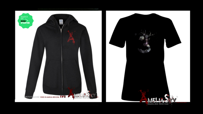 """Exclusive Kickstarter """"A"""" Hoodie and """"Issue #3"""" T-shirts"""