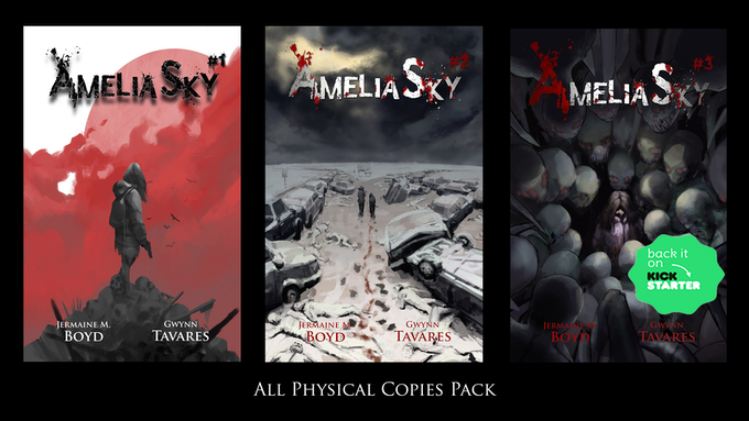Exclusive Kickstarter (All Physical Copies Pack)Reward