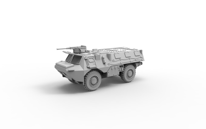 VAB armoured personal carrier version