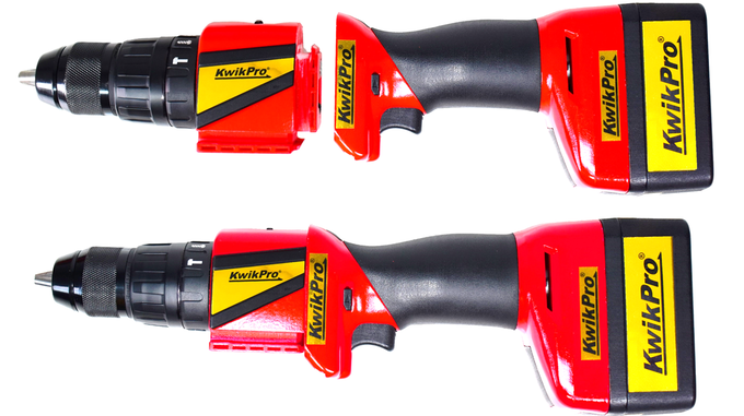 Hammer drill - end-on