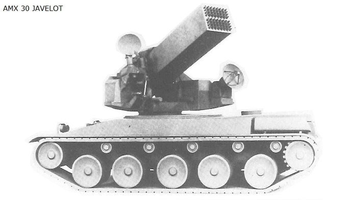 AMX30 Javelot (AA rocket system)