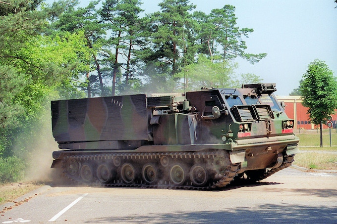 LRM French M270 MRLS
