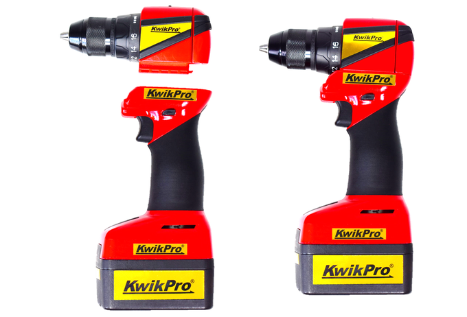 Rotary drill - pistol grip