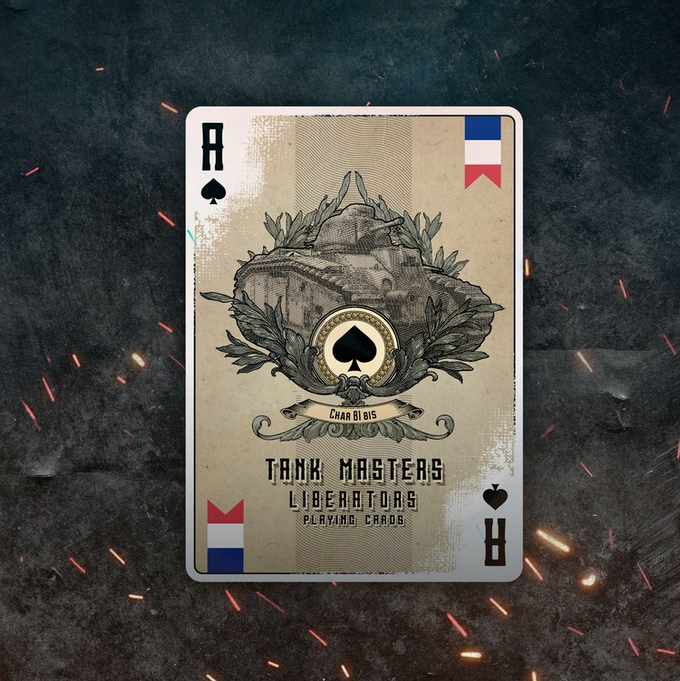 Ace of Spades Liberators Deck