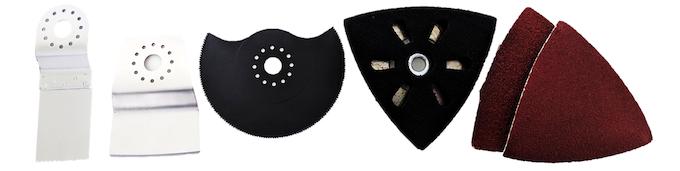Comprehensive set of accessories