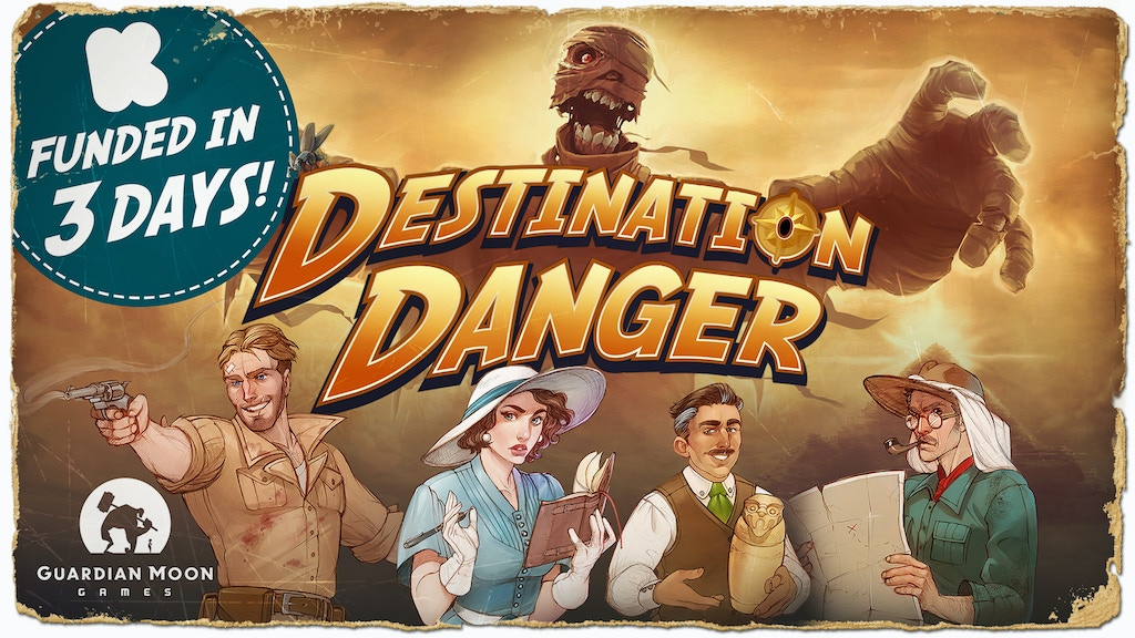 Destination Danger by Guardian Moon Games project video thumbnail