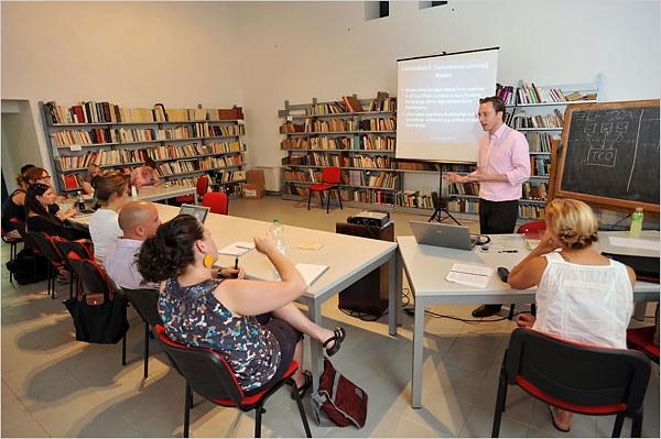 Dr Edgar Tijhuis teaches ARCA students