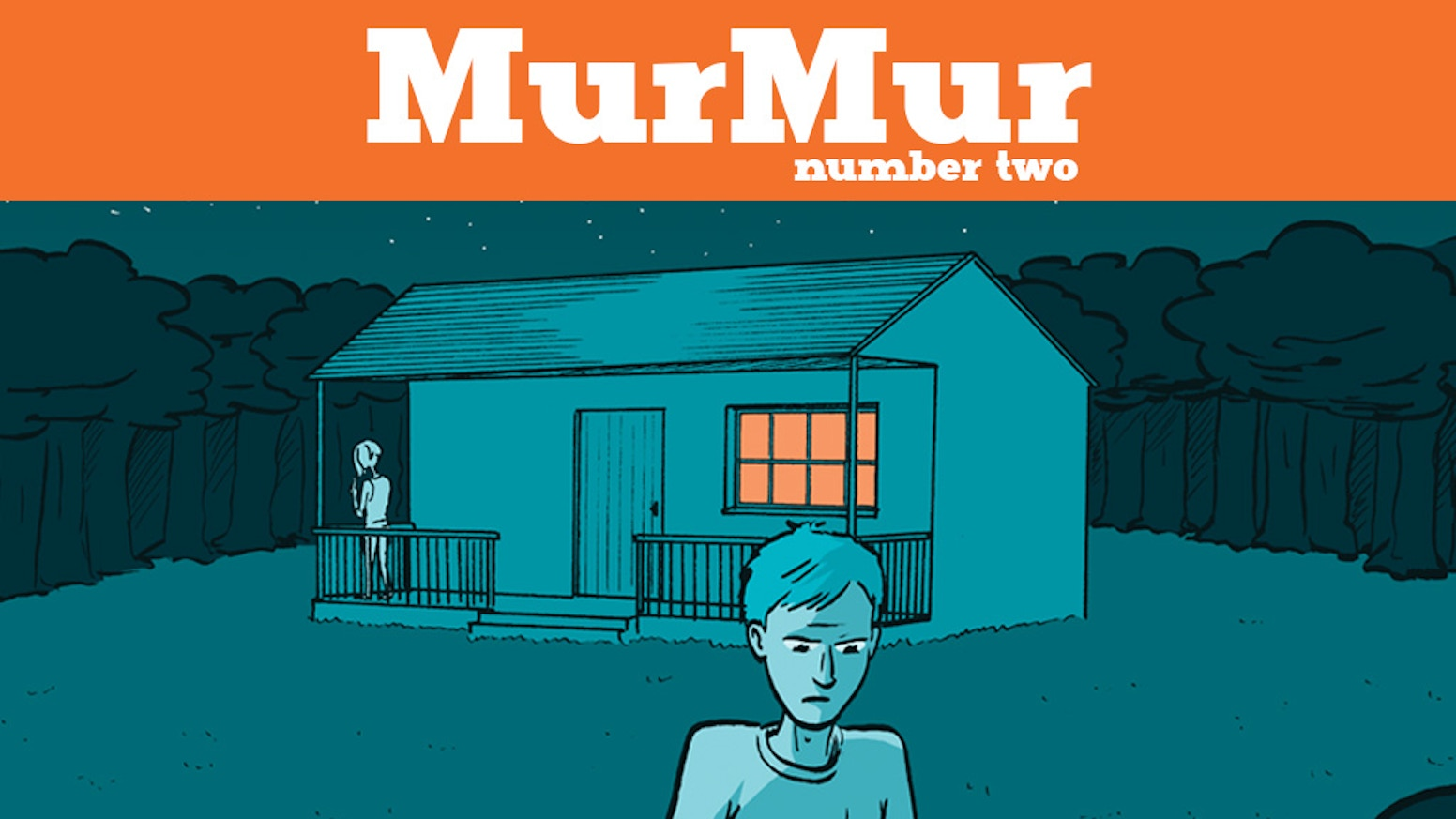 The 2nd issue of the comic book MurMur, a series collecting short stories.