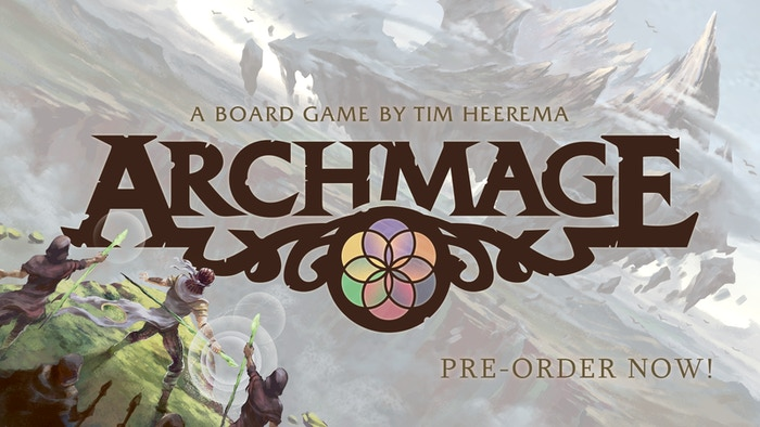 Travel the lands, build an Order of Mages, and become the Archmage - weaving all forms of magic into one - in this exciting board game.