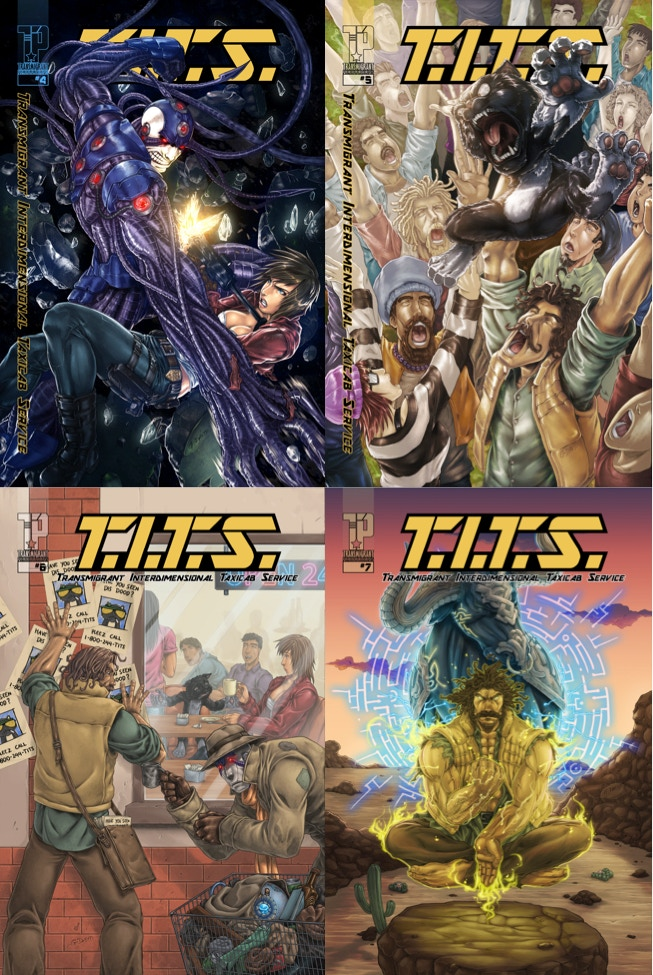 T.I.T.S. ISSUES #4-7