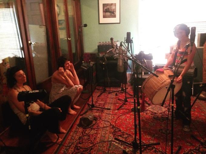 Recording our last album