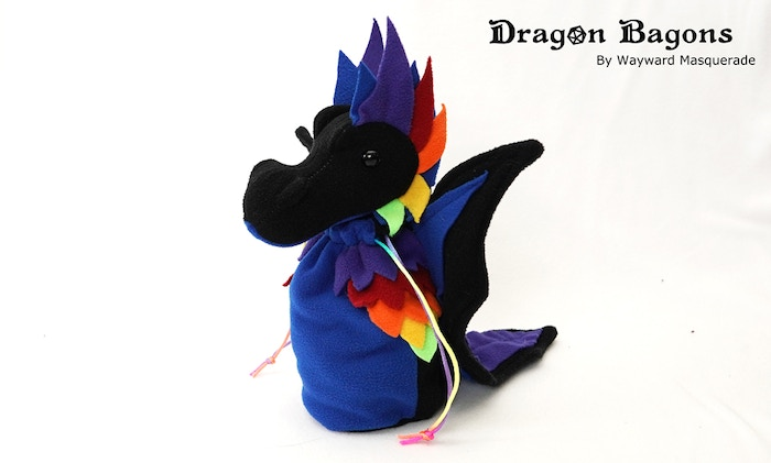 Black Rainbow Dragon Bagon