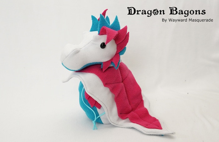 Bright Trans Pride Dragon Bagon