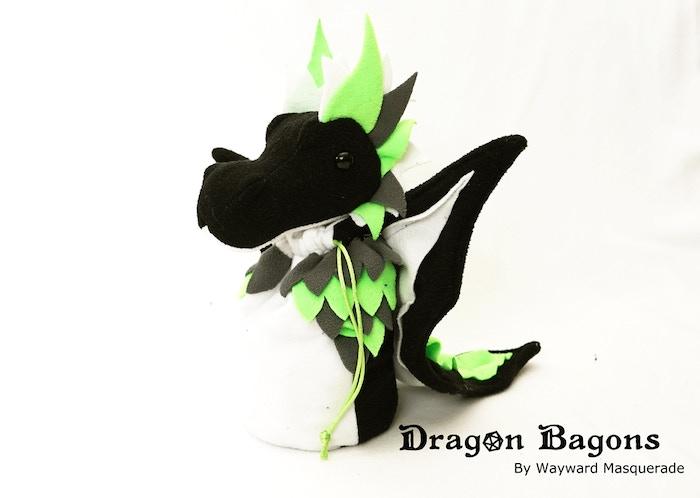 Agender Pride Dragon Bagon