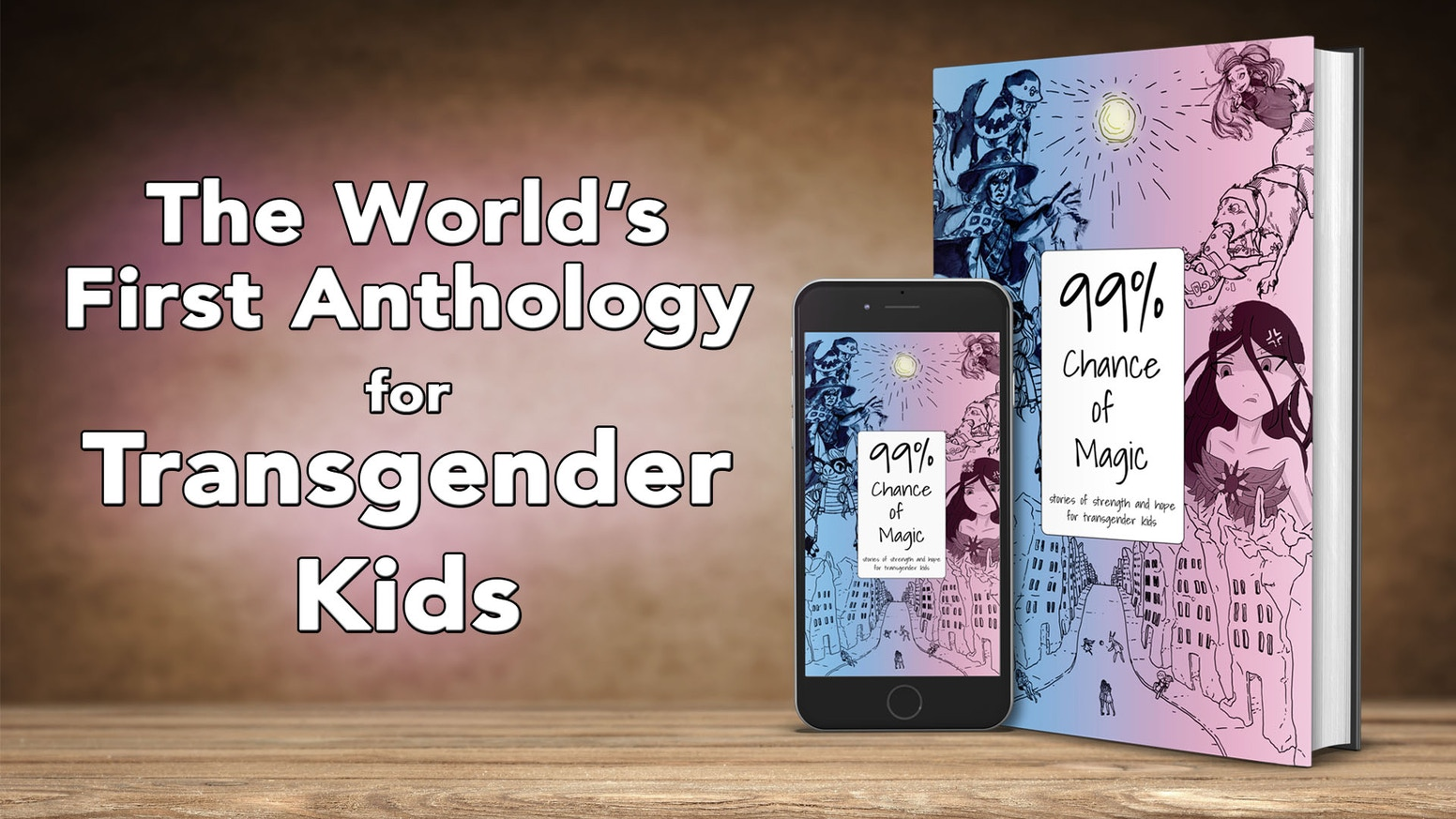 The world's first chapter book for transgender kids and other humans