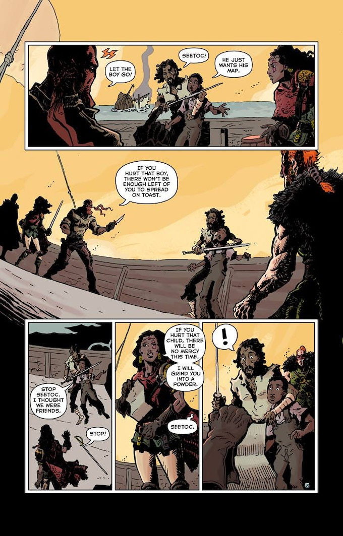 RED RANGE: PIRATES OF FIREWORLD page 15