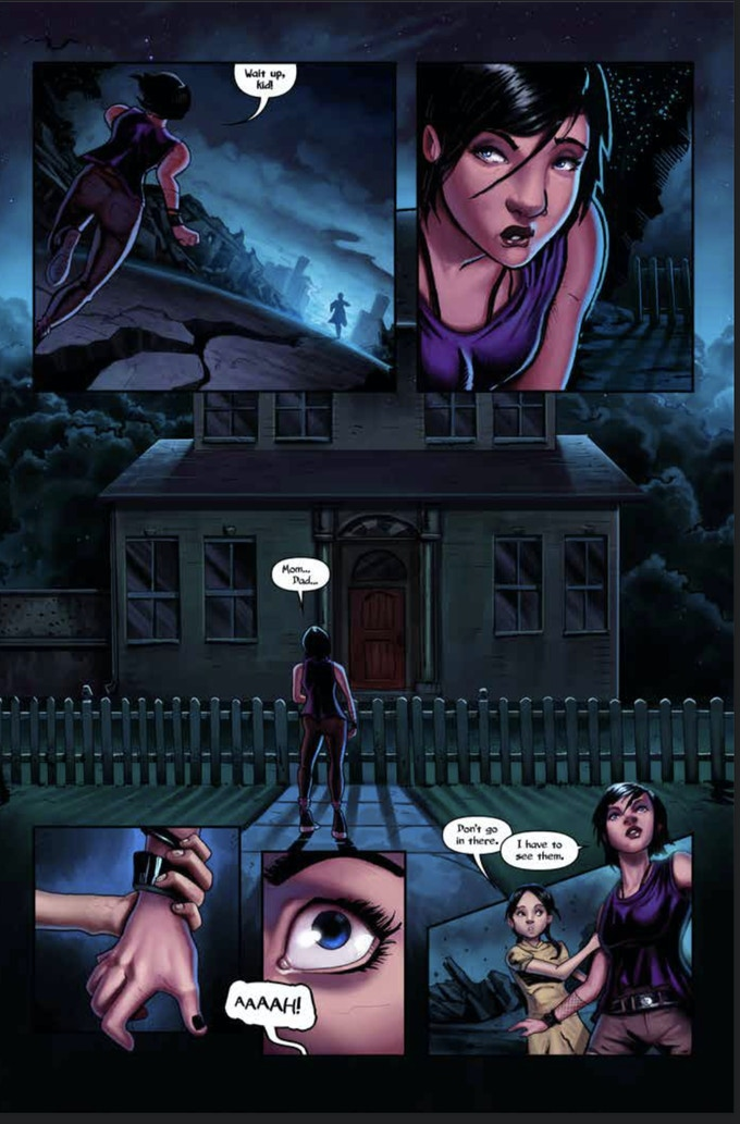 NIGHTMARE #1 page three