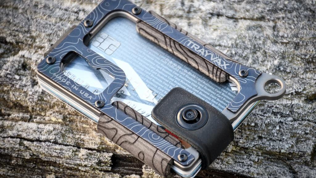 Make 100: Titanium Contour Wallet by Trayvax