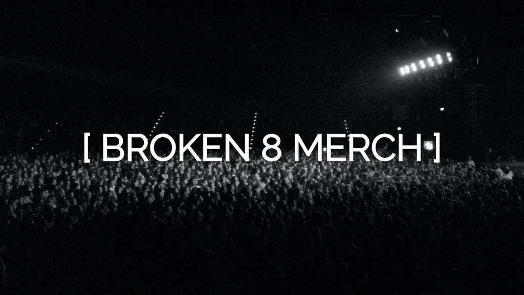 Project image for A new line of merch and apparel for Broken 8 Records