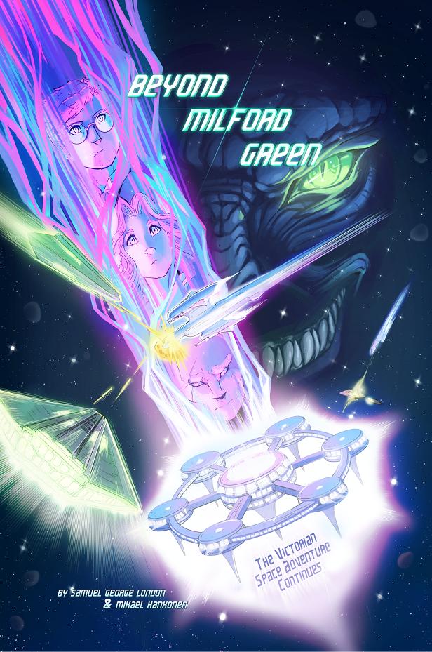 Beyond Milford Green - Cover B (Star Trek VI Homage)